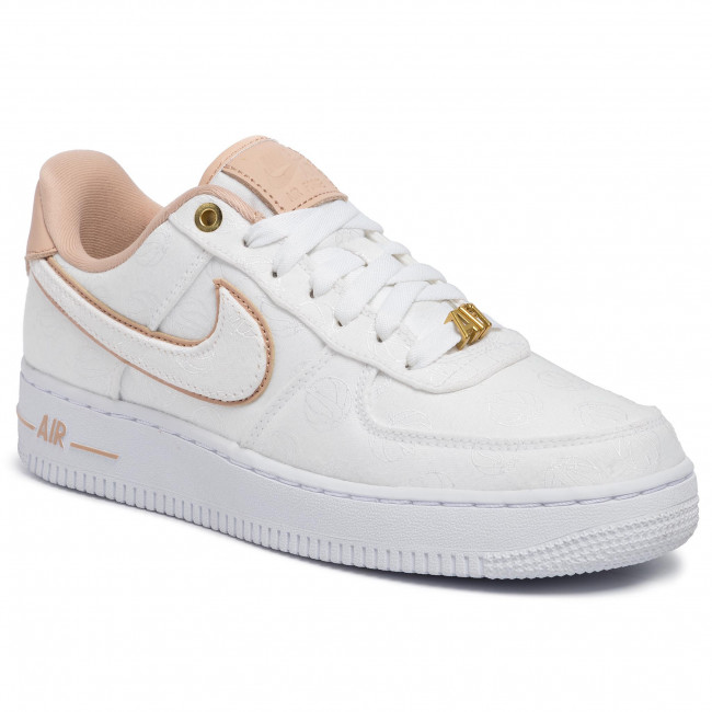 Chaussures NIKE Air Force 1 '07 Lx 898889 102 WhiteBio BeigeWhite