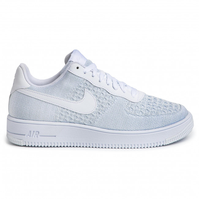 air force 1 flyknit blanc