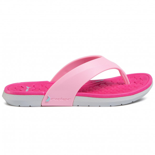 Explorer Chaussures femme Tongs RIDER - Infinity II Thong K 82742 Grey/Pink 21375 - Tongs - Mules et sandales - Fille - Enfant b1WRw