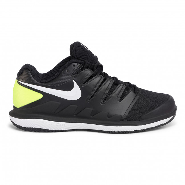 Offres Chaussures homme Chaussures NIKE - Air Zoom Vapor X Cly AA8021 009 Black/White/Volt - Tennis - Chaussures de sport - Homme rp6Ly