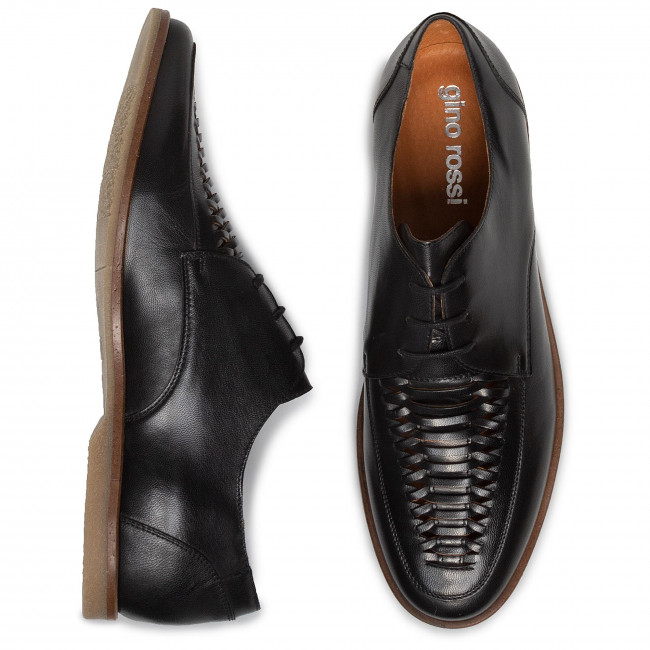Particulier Chaussures homme Chaussures basses GINO ROSSI - Cross MMU037-N50-5J00-9900-0 99 - Soirée - Chaussures basses - Homme bk76R
