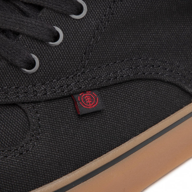Sortie Chaussures homme Tennis ELEMENT - Topaz C3 S6TC31-01A-3545 Black Gum Red - Baskets - Chaussures basses - Homme AcDjn