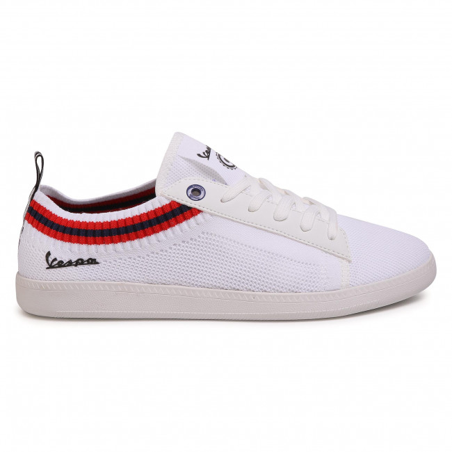 Qualité Supérieure Chaussures homme Sneakers VESPA - Pop V00011-500-10 White - Sneakers - Chaussures basses - Homme vHKOe