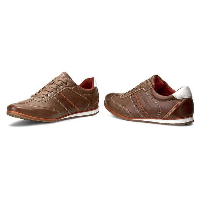Lanetti 02 Chaussures 15001 Sneakers Gino Marron Mp07 wvIS5x