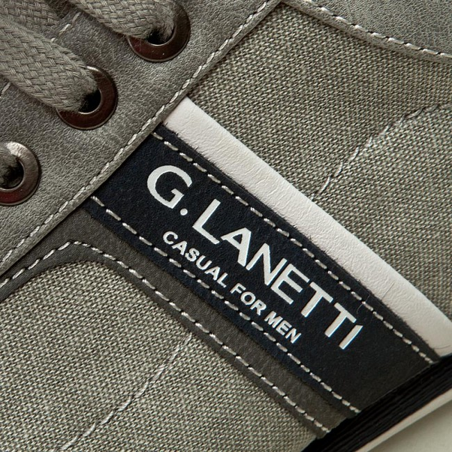 Chaussures Basses Gino Lanetti Mp07-16233-01 Gris D