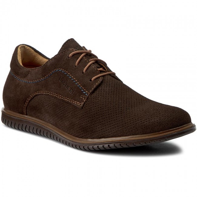 Chaussures Lasocki For ramon Men Basses 04 Mb Brązowy Ciemny MqUzVSpG