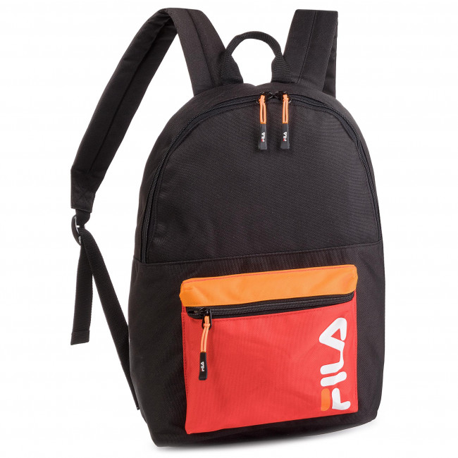 7d25e057b5 Sac à dos FILA - Backpack S'cool 685005 Black-Fiery Red L27 - Sacs ...