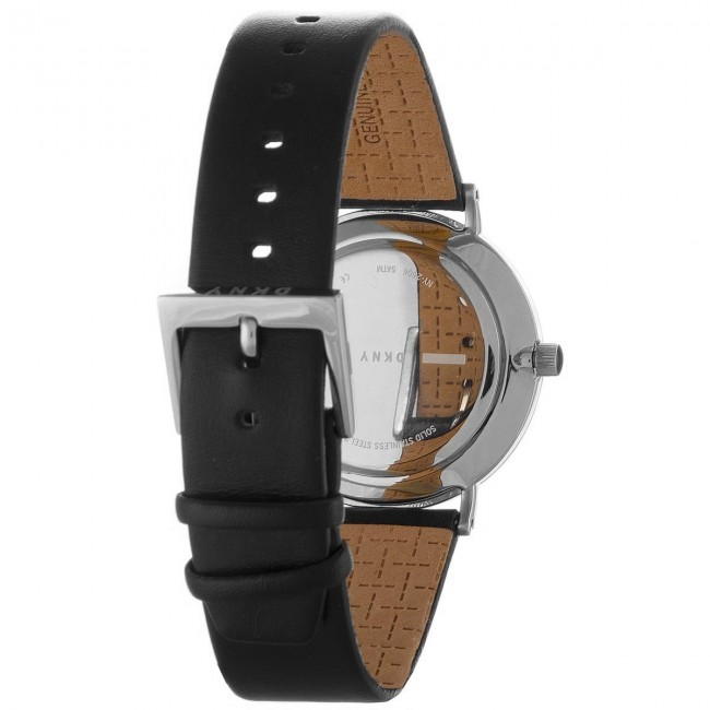 silver Montres Accessoires 2018 Femme Ny2506 Minetta Spring summer Black steel Montre Dkny gy7Y6bf