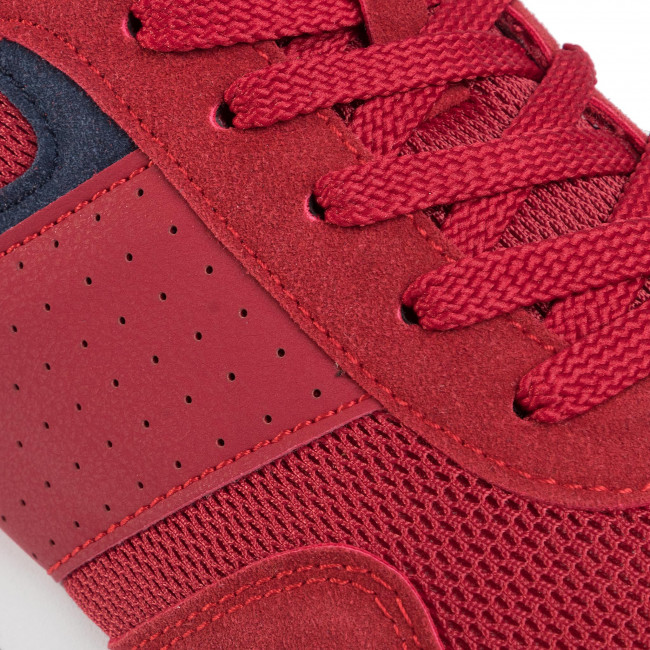 Achat Pas Cher Chaussures homme Sneakers LANETTI - MP07-91238-03 Red - Sneakers - Chaussures basses - Homme p1Hvi