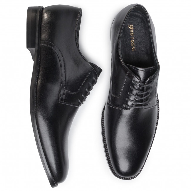 Classique Chaussures homme Chaussures basses GINO ROSSI - TA-MI08-C727-734-01 Black - Soirée - Chaussures basses - Homme m4Dhn