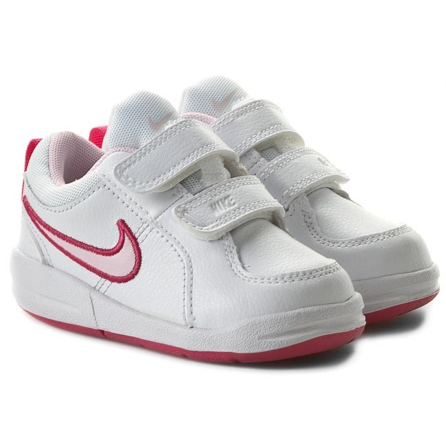buy online 5c847 dad55 Chaussures NIKE - Pico 4 454478-103 White Prism Pink Spark - Fermeture  scratch - Chaussures basses - Fille - Enfant - www.chaussures.fr