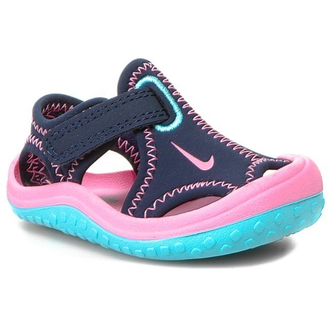 c1274128d1e1f Sandales NIKE - Sunray Protect 344993 401 Midnight Navy Pink Glow Rose