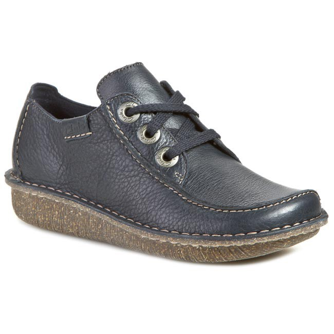 959b4f41258 Chaussures basses CLARKS - Funny Dream 203011234 Navy - Talons ...
