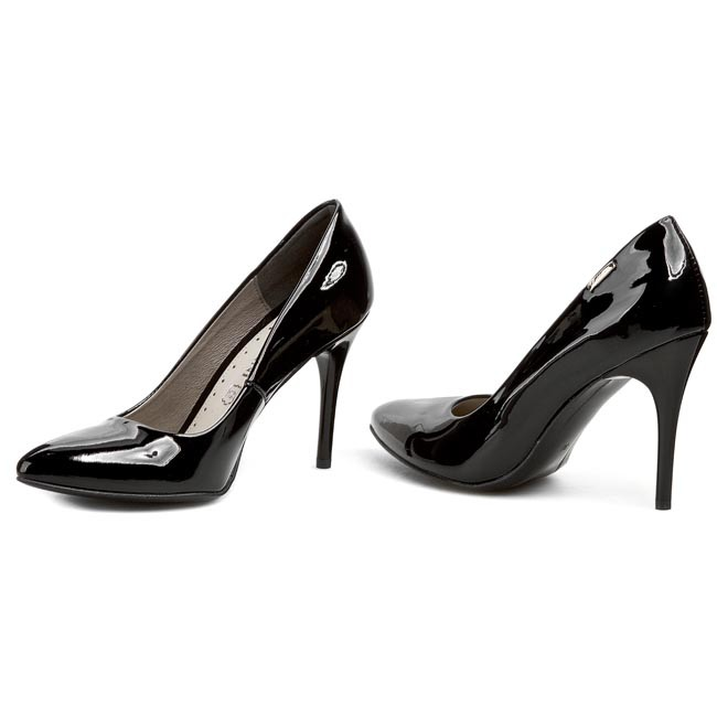 Talons Baldaccini 402600 Vernice 771 Lakier Aiguilles Nero mNnwvO0y8