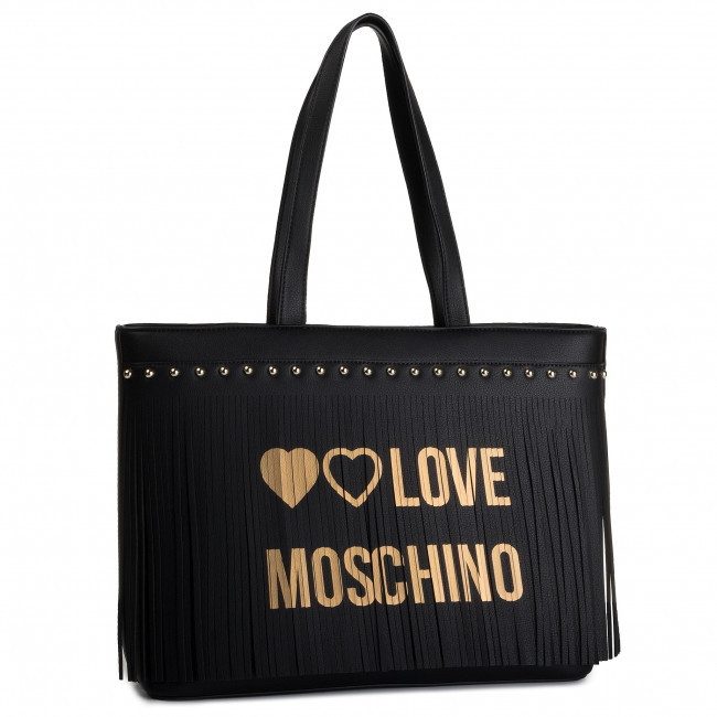 a winter Love Nero Jc4101pp18ls0000 Main 2019 Fall Sacs Moschino Sac Cabas Pre 3L4c5jqSAR