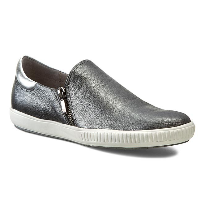 Chaussures KARINO basses KARINO Chaussures - 1252/002-P Gris - Plates - Chaussures basses - Femme 743ba6