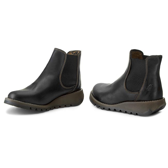 Black Bottines Salv P143195000 Chelsea London Fly DH2IW9E
