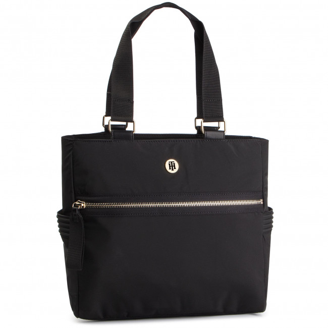 2349bb791d Sac à main TOMMY HILFIGER - Youthful Nylon Tote AW0AW06458 002 ...