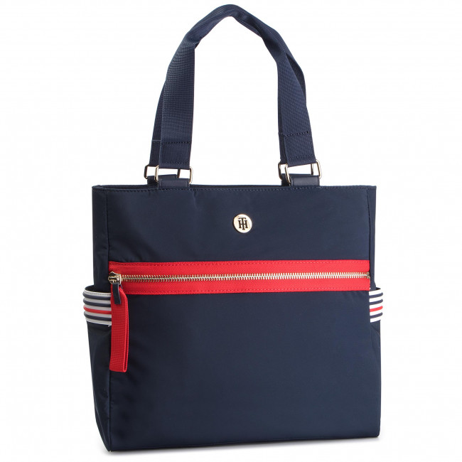 40a508be61 Sac à main TOMMY HILFIGER - Youthful Nylon Tote AW0AW06458 901 ...