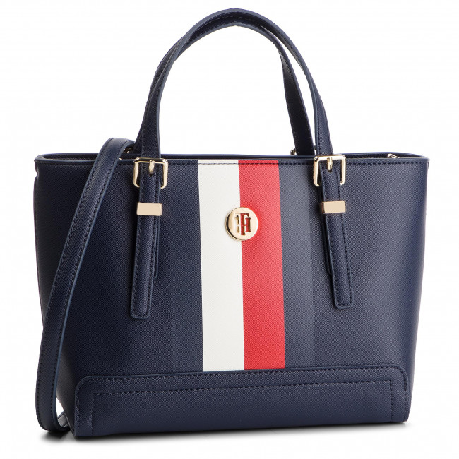 dc72657b46 Sac à main TOMMY HILFIGER - Honey Small Tote Corp AW0AW06866 901 ...