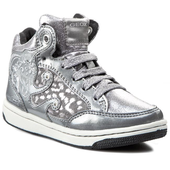 C1007 Geox J J54l5a A Sneakers 0dhkn Cremy Argent HIWYED29
