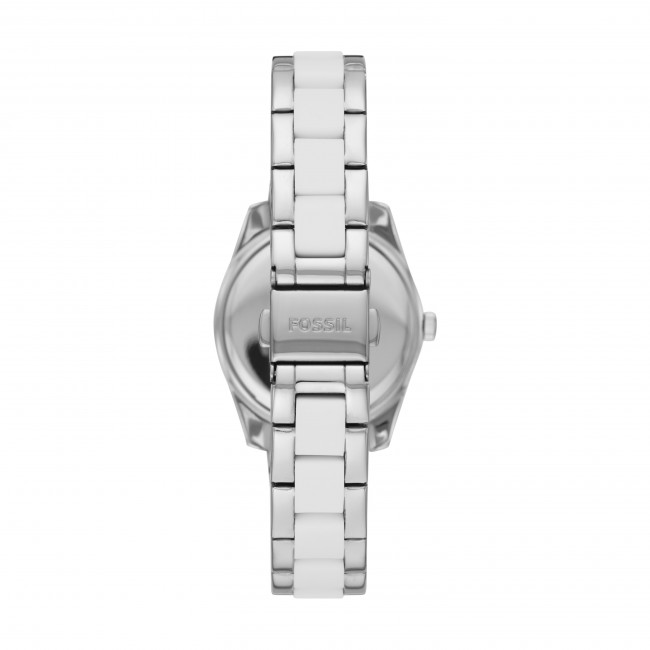 white Femme Silver Fossil 2018 Es4590 Fall Scarlette Montres Montre winter Accessoires zpUMSqVG