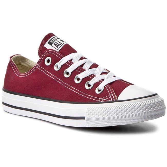 8033f7efac6a6 Sneakers CONVERSE - All Star Ox M9691C Maroon - Baskets - Chaussures ...