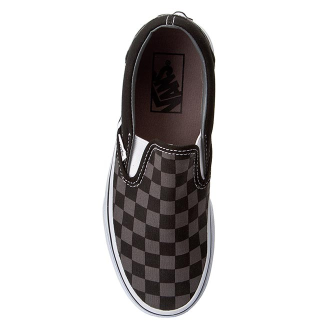 Tennis VANS - Classic Slip-On VN000EYEBPJ Black/Pewter Checkerboard