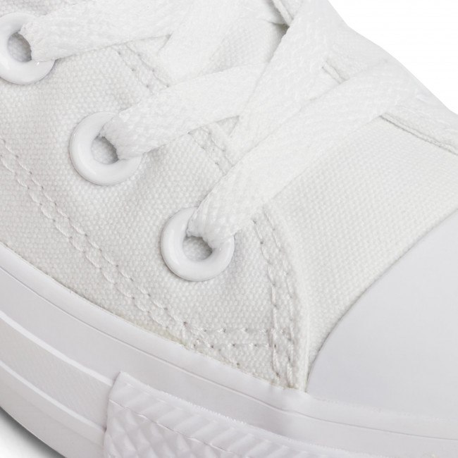 Sneakers CONVERSE - Ct As Sp Hi 1U646 White Monochrome - Baskets - Chaussures basses - Femme