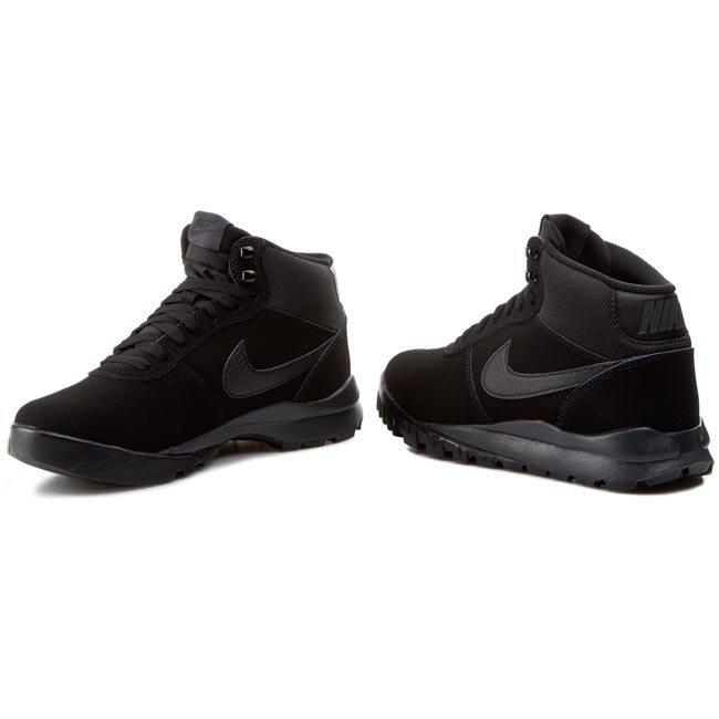 Hoodland 090 black Chaussures Black antracite 654888 Nike Suede EDYW29IH