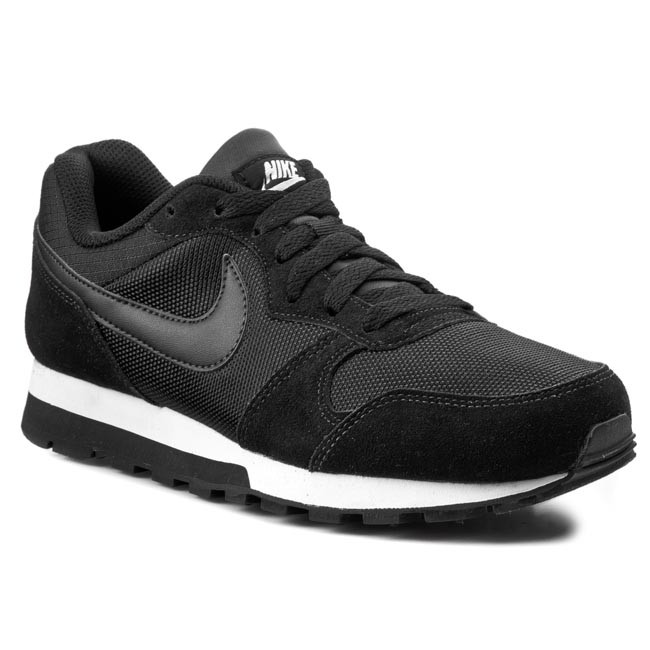Chaussures NIKE Md Runner 2 749869 001 BlackBlackWhite