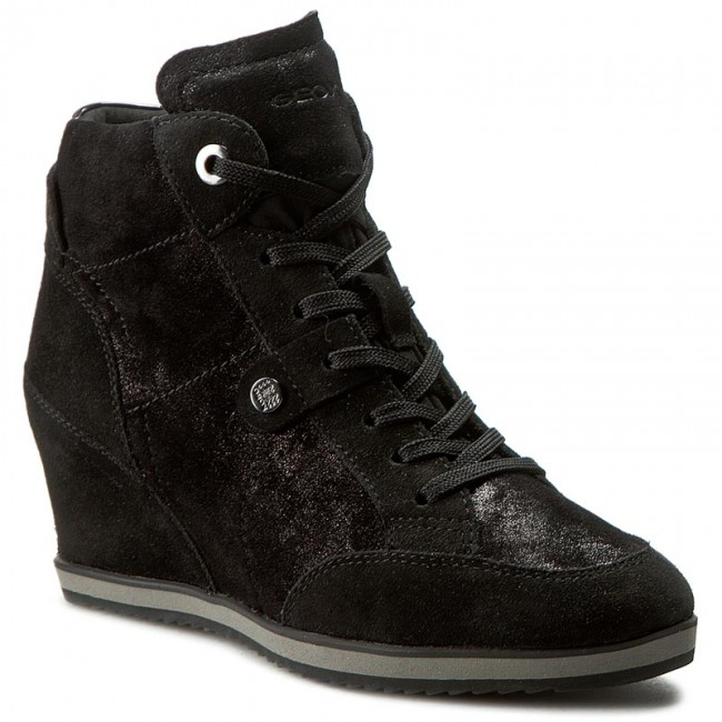 Illusion D4454a 0ma22 D Sneakers C9999 Geox Noir A eEIH2WYD9