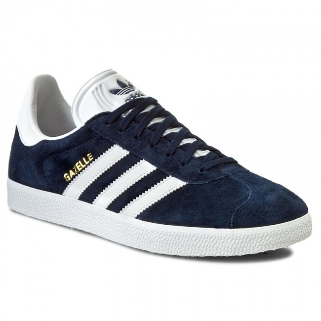 Chaussures adidas - Gazelle BB5478 Conavy/White/Goldmt