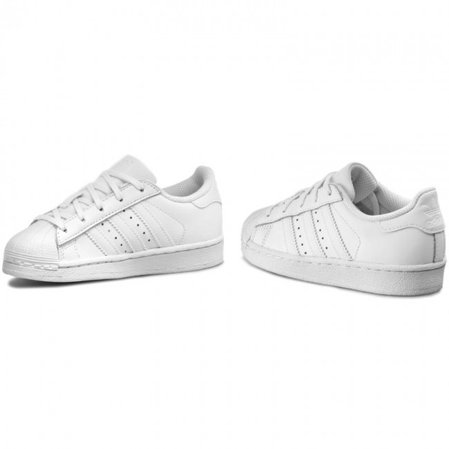 Chaussures adidas Superstar Foundation C BA8380 FtwwhtFtwwhtFtwwht