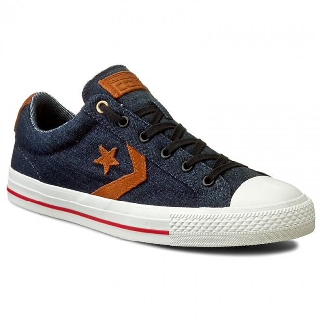 Sneakers CONVERSE Star Player Denim Ox 153957C ObsidianAntique SepiaGray