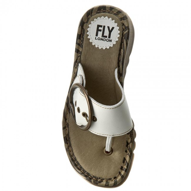Trim Offwhite London P500453024 Tongs Fly HIDY29EeW