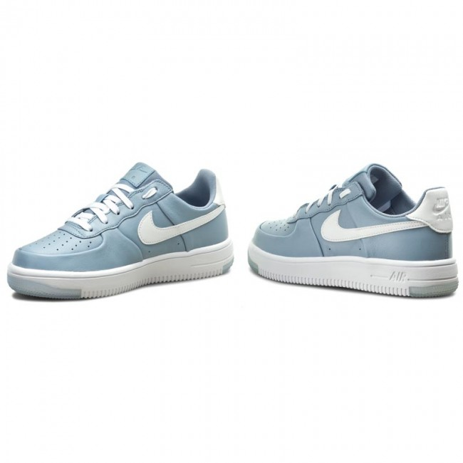 Chaussures NIKE Air Force 1 Ultraforce (GS) 845128 400 Blue GreyWhite