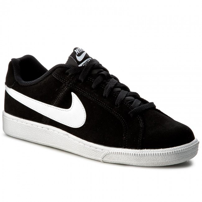 Nike Suede Chaussures Royale Court Blackwhite 011 819802 mwvNn80