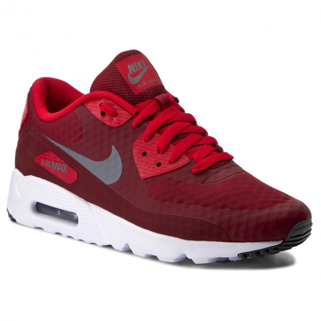 Chaussures NIKE Air Max 90 Ultra Essential 819474 602 Team RedDk GreyUnv RdWhite