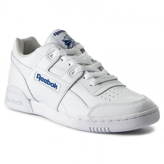 Chaussures Reebok Workout Plus 2759 WhtRoyal