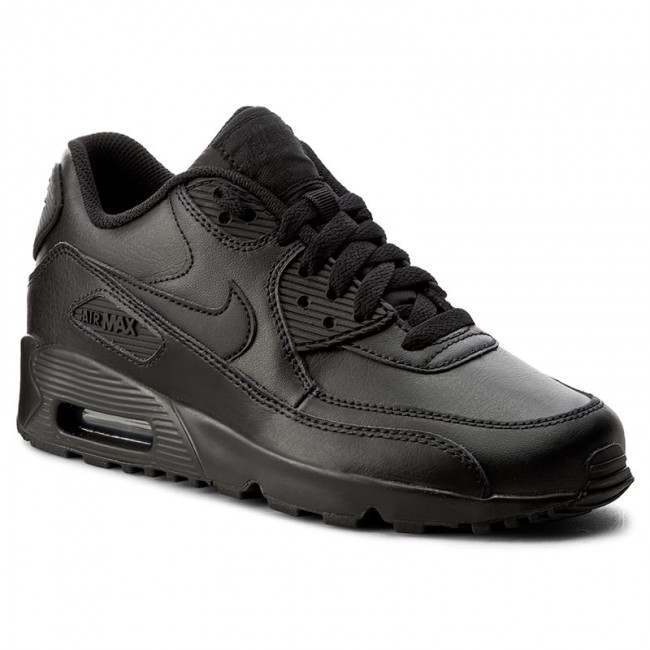newest collection new arrivals clearance prices Chaussures NIKE - Air Max 90 Ltr (GS) 833412 001 Black/Black ...