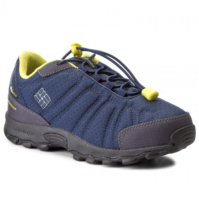 Chaussures de trekking COLUMBIA Youth Firecamp Sledder II Wp BY2732 Collegiate NavyGinkgo 464