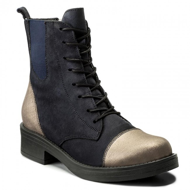 gold Bottines Bottines Navy 41c341 Lanqier Lanqier Bottines gold 41c341 Navy N80ZnOkXwP