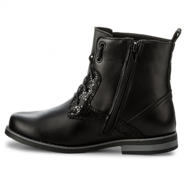 Helios Helios 705 b Bottines 705 Czarny Bottines I6gY7yfvb