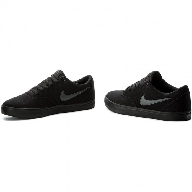 low price sale factory outlet low priced Chaussures NIKE - Sb Check Solar Cnvs 843896 002 Black/Anthracite ...