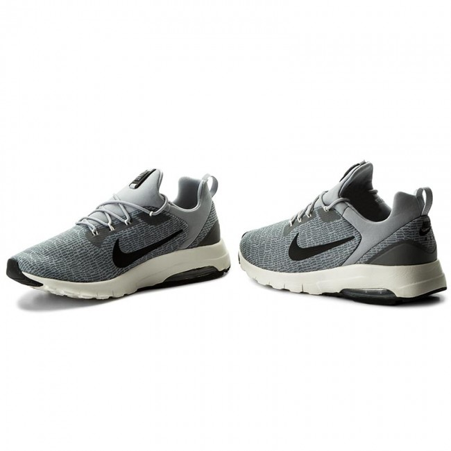 Chaussures NIKE Air Max Motion Racer 916771 002 Cool GreyBlackWolf GreySail