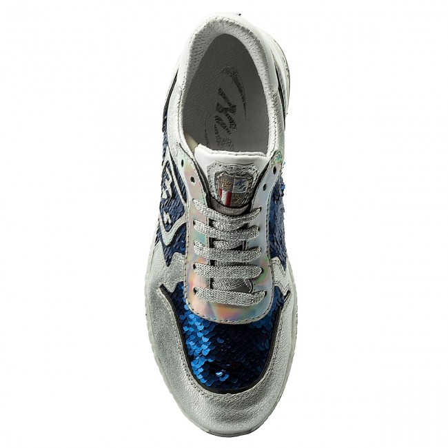 2 Italia Bluette New Shoes Sneakers silver 1829397a Yb6gf7vy