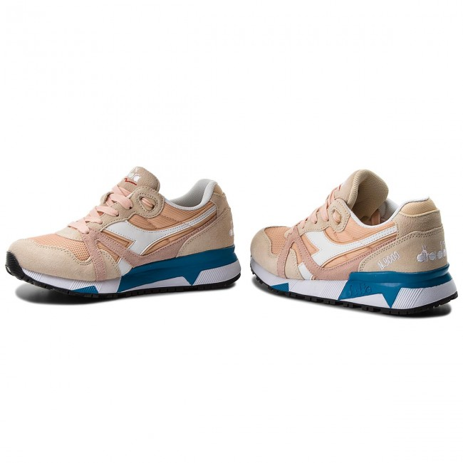 Sneakers DIADORA - N9000 III 501.171853 01 C7376 Bique/Bleached Sand/Vivi - Sneakers - Chaussures basses - Femme