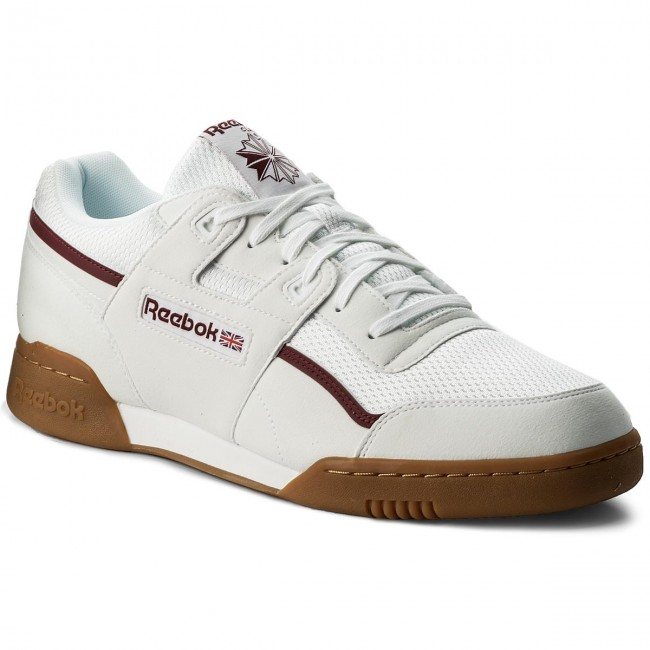 Chaussures Reebok Workout Plus Mvs CM9928 WhiteMaroonChalk Grn