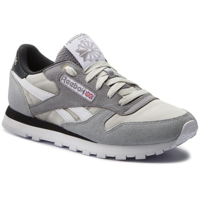 Chaussures Reebok Cl Leather Mccs CM9612 MarbleIronGravelBrown